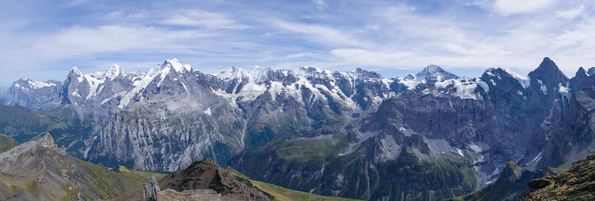 Europe:  The Swiss Alps and Dolomites