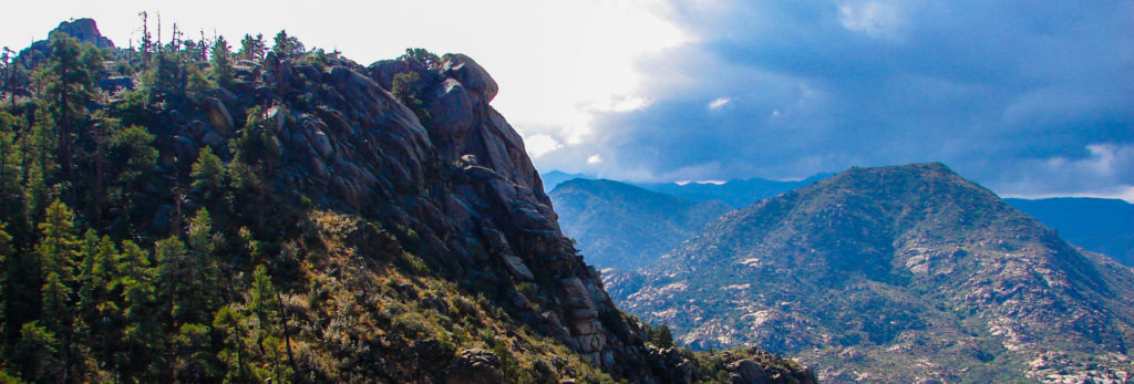 Granite Mountain is one of the destinations you might go on this self guided hiking tour.